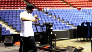 Young R [Sound Check Before Rick Ross Concert]