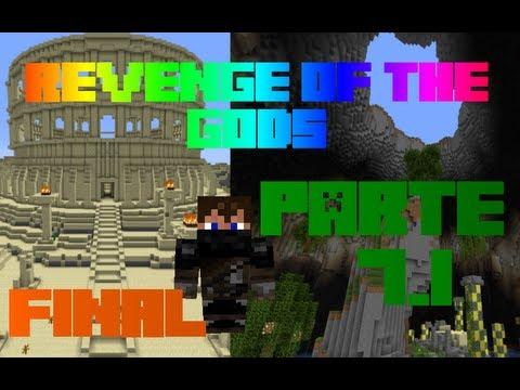 Revenge of the gods - Minecraft - Mapa de Aventura - parte 7.1(Final)