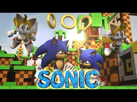 Minecraft   Sonic The Hedgehog Mod Showcase! (sonic Mod, Tails, Bosses) video
