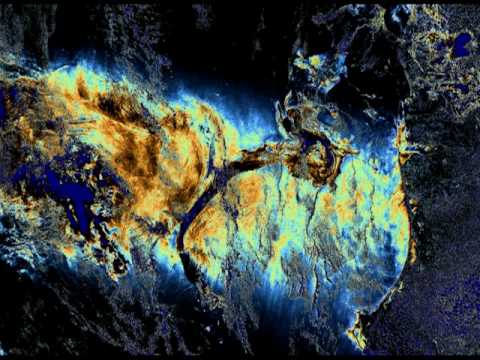 3-19-11 Update & True size of BP Gulf of Mexico oil spill.mpg