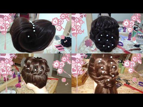 4 peinados de novia faciles rapidos y bonitos para fiestas en cabello largo 2015
