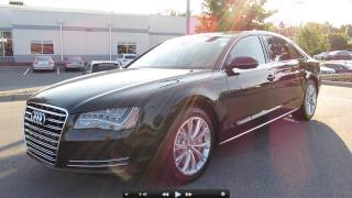 2012 Audi A8 L Start Up, Exhaust, and In Depth Tour