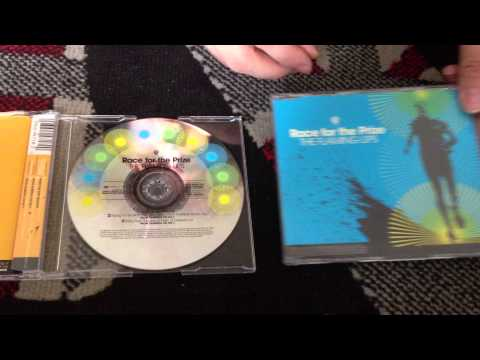 Nostalgamer Unboxes The Flaming Lips Race For The Prize 2 CD Singles Zaireeka ALT