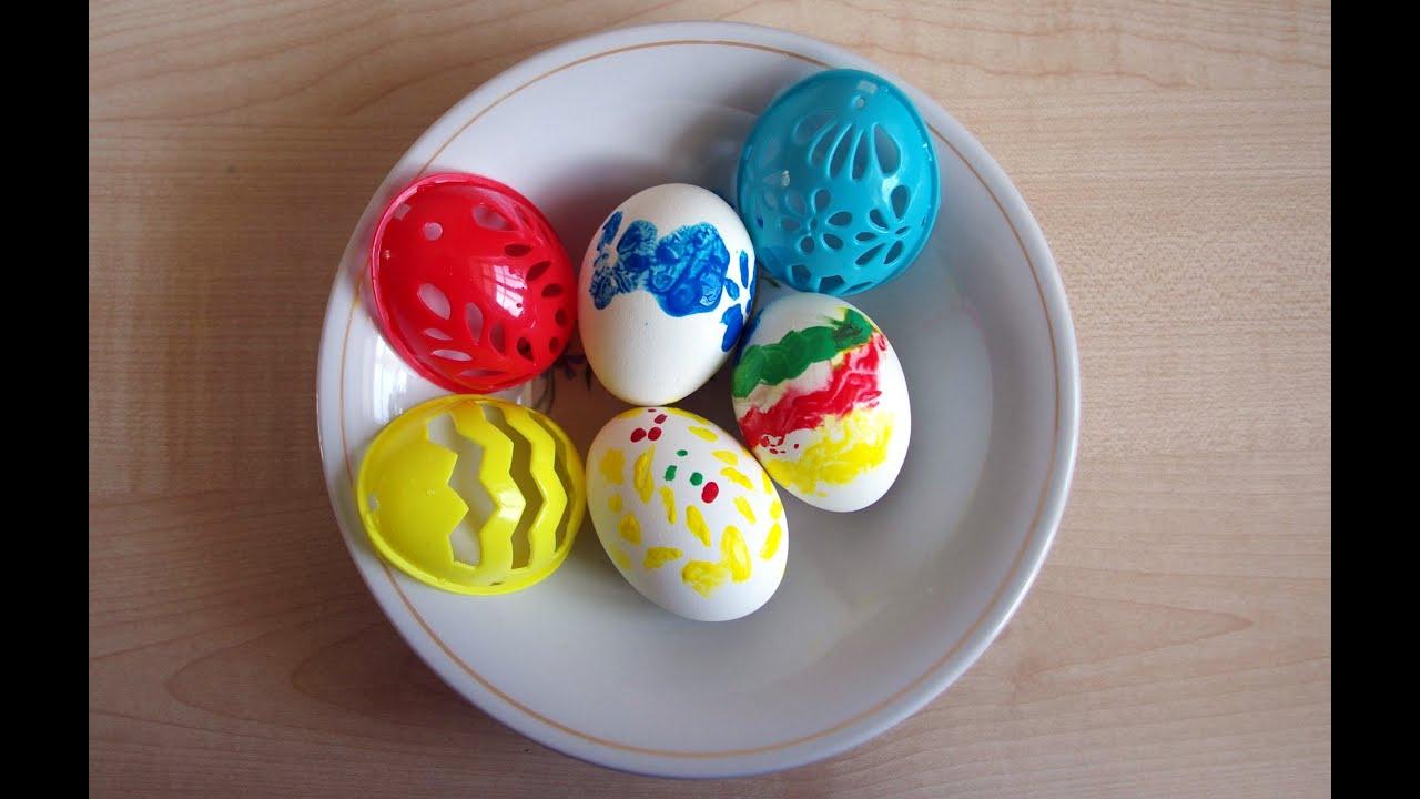 Красим яйца к пасхе своими руками с детьми