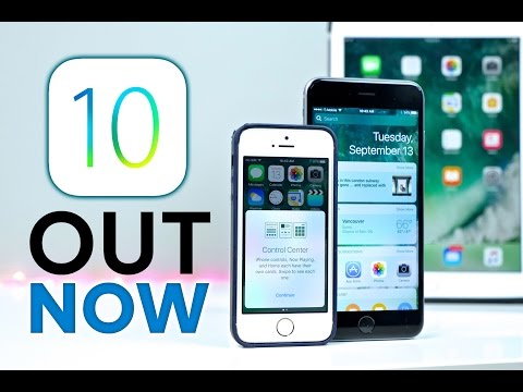 iOS 10 Released! Everything You Need To Know!