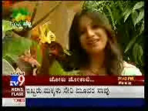 Pooja Gandhi's Kannada Joke video