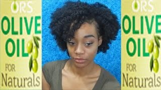 ORS OLIVE OIL for NATURALS + HAIRCARE ROUTINE