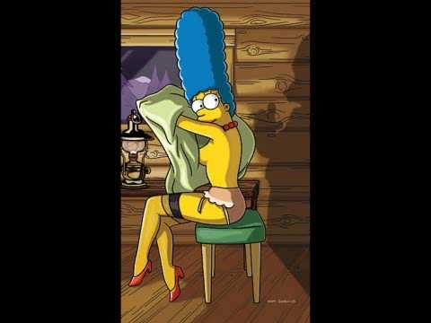 Marge Simpson Playboy pictures Video