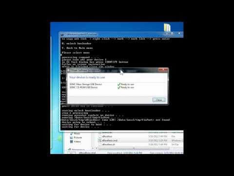 Unlock Bootloader and Kernel flash E15i Xperia X8