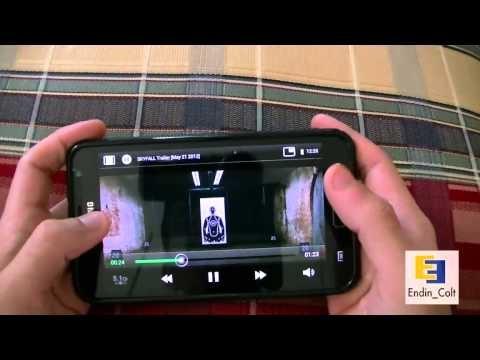 Android 4.0.4 Pop Up Player On the Galaxy Note GT N7000 Review