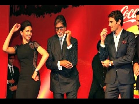 International Premier Tennis League - Deepika Padukone And Roger Federer Dance Together!