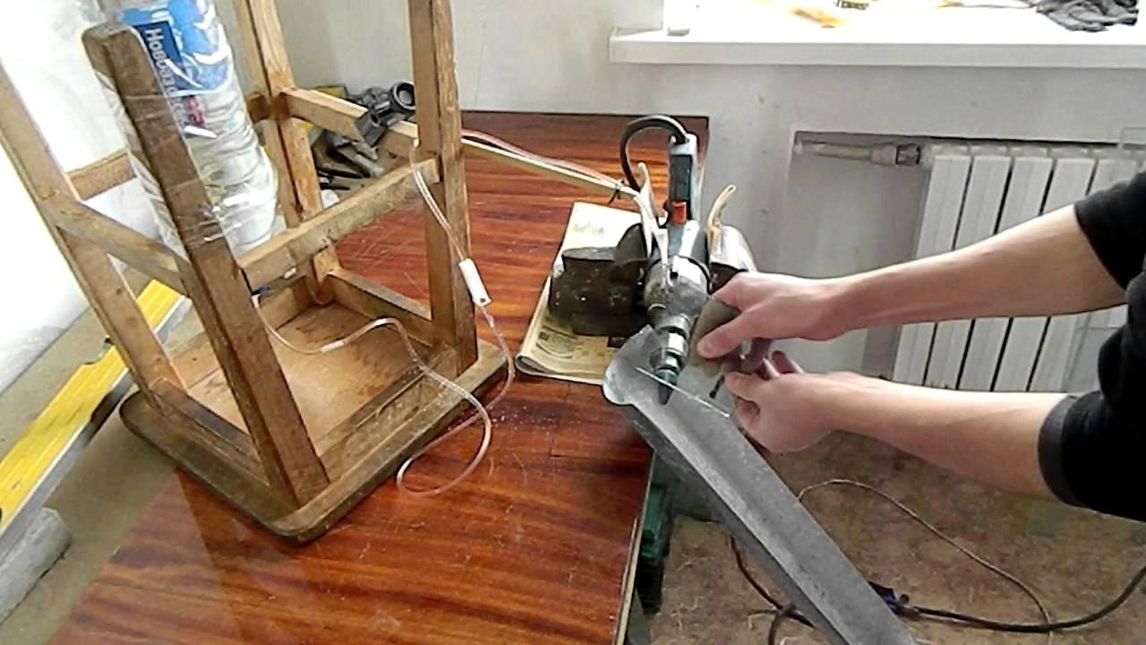 Обработка торцов стекла в домашних условиях