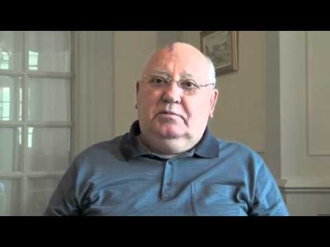 Mikhail Gorbachev video interview: Green Cross Returns to Rio