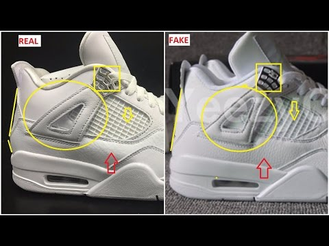 Fake Air Jordan 4 Pure Money Spotted- Quick Ways To Identify Them