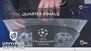As quedaron definidos los cruces de los Cuartos de Final de la UEFA Champions League