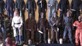 michael myers 12 inch collection 1/6 halloween