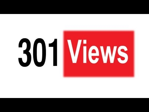 Why do YouTube views freeze at 301?