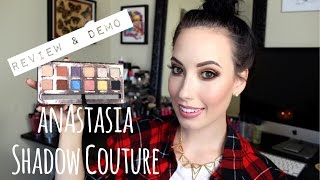 REVIEW/TUTORIAL: Anastasia Beverly Hills Shadow Couture World Traveler Palette | lesleydoesmakeup