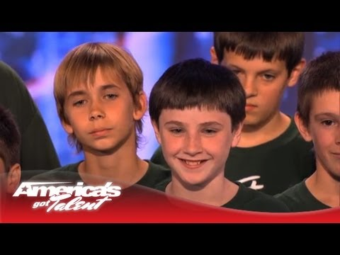 The Pacific Boys Choir Give the Judges Chills - America's Got Talent