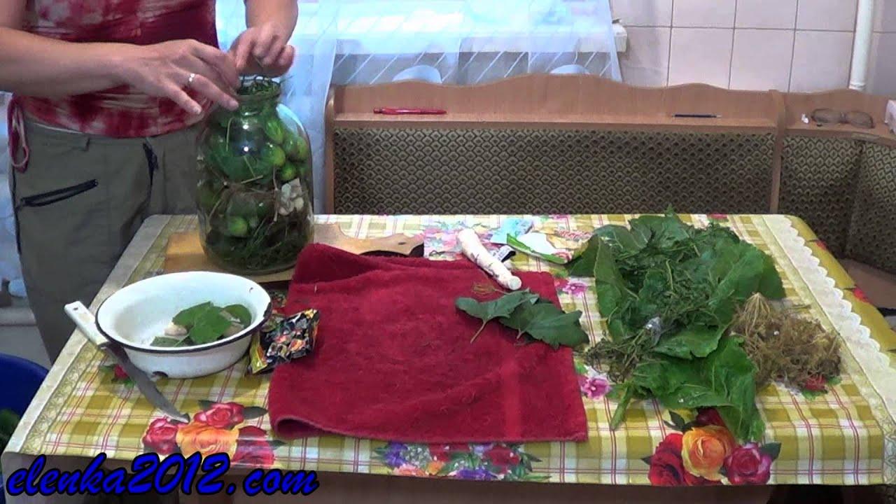 Рецепт огурцов на зиму с лимонной кислотой