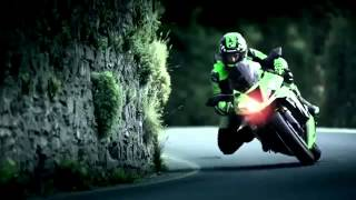 2013 new Kawasaki ZX6R 636 Ninja Isle of Man) action official video
