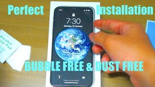 How to Apply a Tempered Glass Screen Protector on your iPhone - BUBBLE & DUST FREE