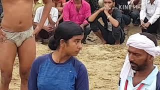 MAHILA PEHELWAN | DANGAL KUSHTI 2018 | MIRZAPUR NASRULLAPUR | MAA KE POOT