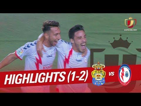 Resumen de UD Las Palmas vs CF Rayo (1-2)