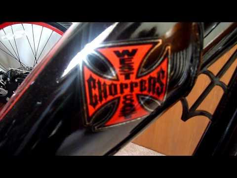 American Chopper Biker Build Off' - Jesse James' bike had some