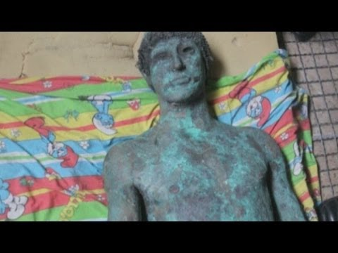 Greek god statue mystery: 2,000 year old bronze Apollo surfaces in Gaza