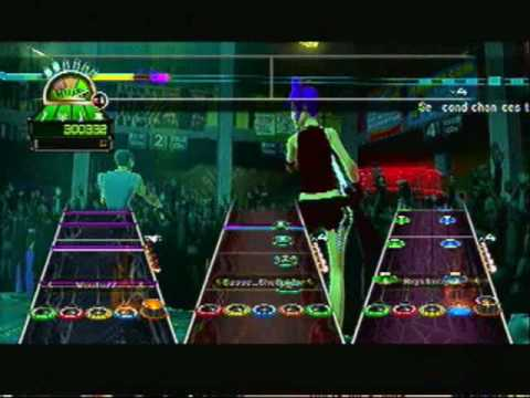 Guitar Hero World Tour Misery Business(PS3 Full Band)
