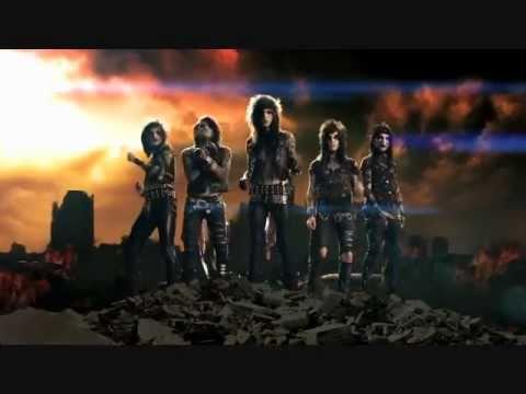 Black Veil Brides-bvb Fallen Angels Music Video  Official New!! video