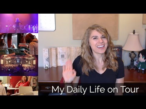 My Daily Life on Tour (Europe, 2016) Taylor Davis Vlog