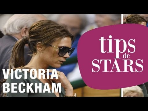 Tips de stars - La queue de cheval de Victoria Beckham