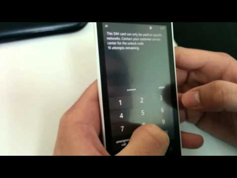 Unlock Nokia Lumia 521 from T-mobile US