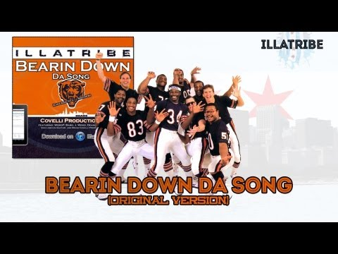 """Bearin Down Da Song"" (Chicago Bears Anthem) - By Illatribe (Produced by Brian Covelli) iTunes link: http://itunes.apple.com/us/album/bearin-down-da-song-chi..."