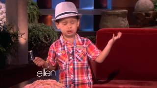 Kai from Ellen sings Big Sean - I Don
