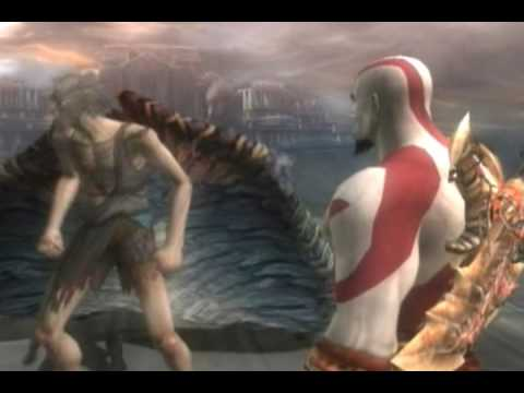 God of War 2 - God Mode - Walkthrough - Part 31 - Icaro. el Hombre con Alas - HQ