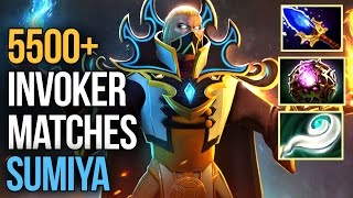 Epic Plays - SumiYa Invoker With 5500+ Matches - Pro Invoker China Dota 2