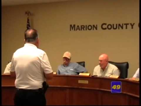 Marion County Commissioners Meeting 06/08/2015