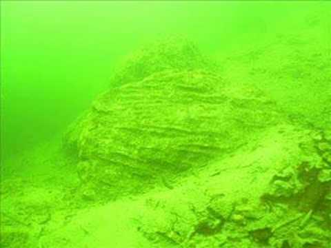 Podvodni izlet na znamenitosti zahodnega dela Bohinjskega jezera.  Underwater excursion in western part of Bohinj lake.