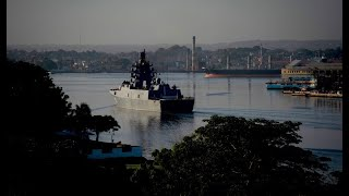 Russia sends warship to US with armed warship in Cuba