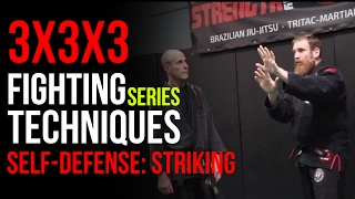 3x3x3 Fighting Techniques Series: Striking Self Defense