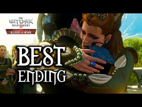 The Witcher 3: Blood and Wine - Best Ending (Yennefer Romance)