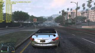 Grand Theft Auto V Rain | 1440P 165HZ G-SYNC | MSI GTX 980 Ti LIGHTNING | MAX SETTINGS | XB271HU