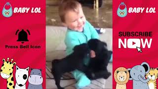 Funny Baby Videos   Cute and adorable Babies and Animals - 2019