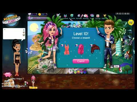 Getting 8 Accounts to level 10 - Miss Goldie Dress!