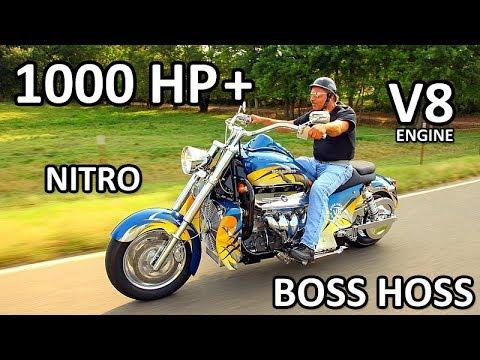 BOSS HOSS Amazing V8 Power Motorcycles