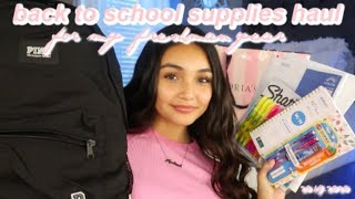 my freshman back to school supplies haul + mini school shopping vlog for 2019!