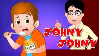 johny johny yes papa fun animated nursery rhyme 😍😍😍😍